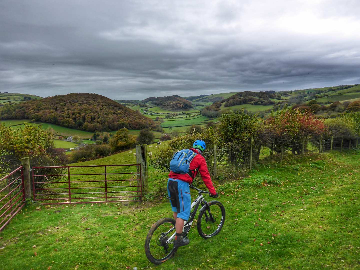 Trans-Cambrian Way - MTB Mountain biking