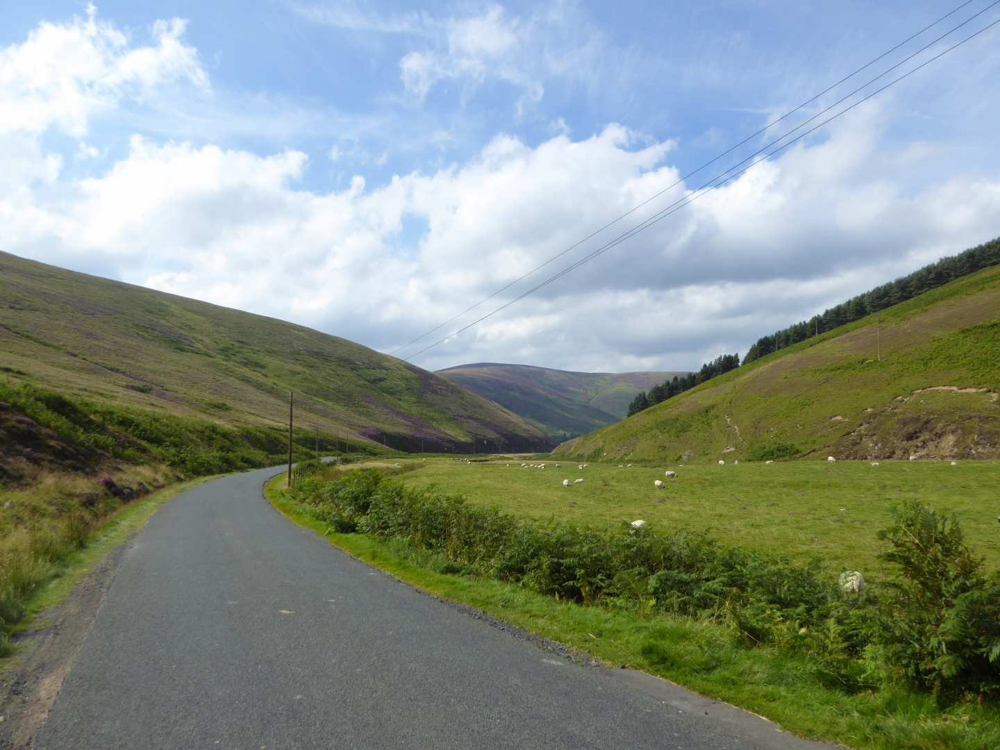 Scottish Coast to Coast Road cycling